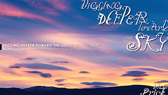 Digging Deeper Toward the Sky CD Release Show Poster