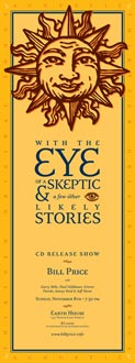 With the Eye of a Skeptic CD Release Show Poster