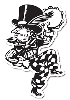 Happy Hatter Vinyl Sticker